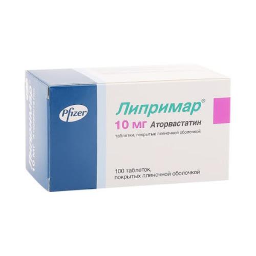 Липримар таб.п/о 10мг №100