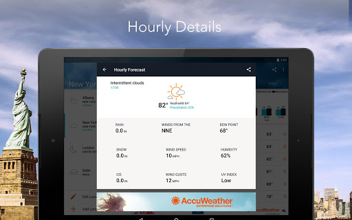 AccuWeather: Local Weather Forecast & Live Alerts  screenshots 9