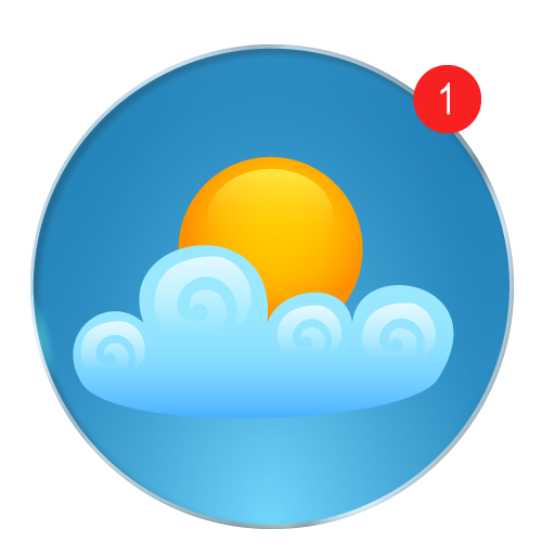 Weather Today App: Forecast, Radar, Clock & Widget