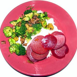 Sauteed Broccoli with Mushrooms Recipe