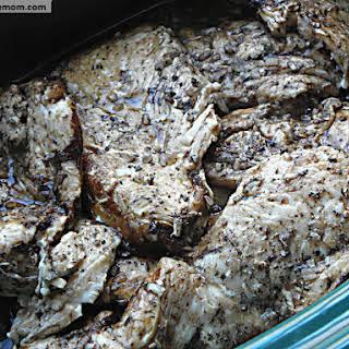 Crock Pot Balsamic Chicken Breasts.