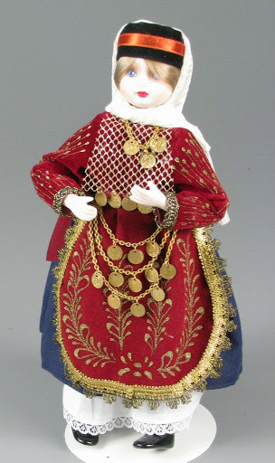 Doll:Russian Female Doll from Ryazan Region