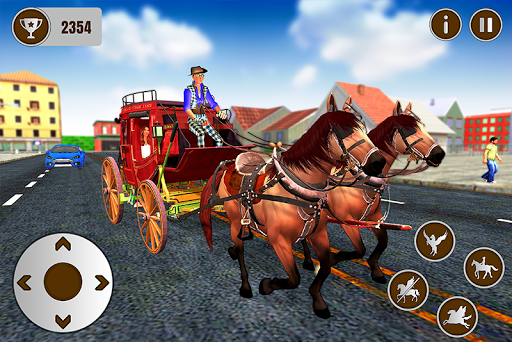 Code Triche Flying Horse Taxi Transport en ville APK MOD (Astuce) screenshots 3