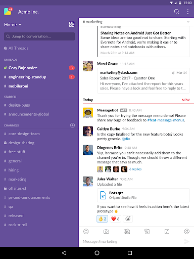 Slack  screenshots 7