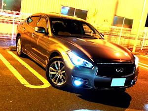フーガ HY51 VIP 後期 ダークメタルグレーのカスタム事例画像 たかさんの2019年01月09日20:02の投稿