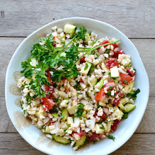Cauliflower Tabouleh Salad.