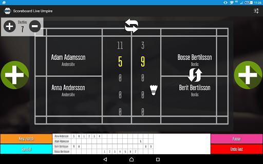 Scoreboard Live Umpire