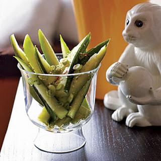 Taiwanese Sesame Cucumbers