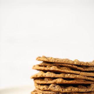 Thin & Chewy Pecan Cookies (Vegan, Gluten-Free).