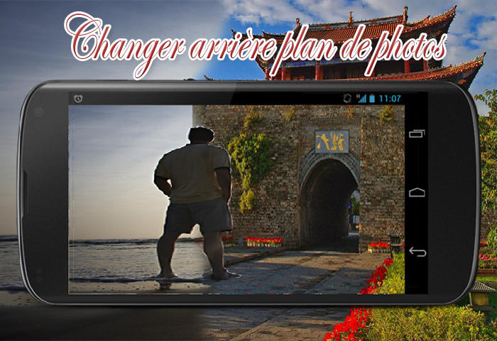 application  changer arri u00e8re plan de photos