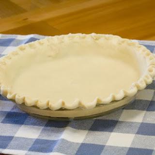 Greek Olive Oil Pie Crust.