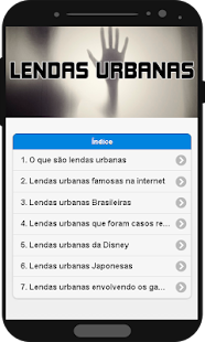 Lendas Urbanas - náhled
