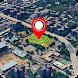 ライブストリートビュー-地球地図衛星、GPS地図