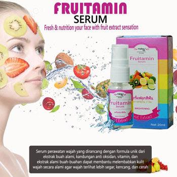 Serum Fruitamin BPOM Serum Alami Untuk Kulit Wajah Dari Ekstrak Buah