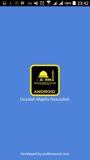 Qosidah Majelis Rosululloh