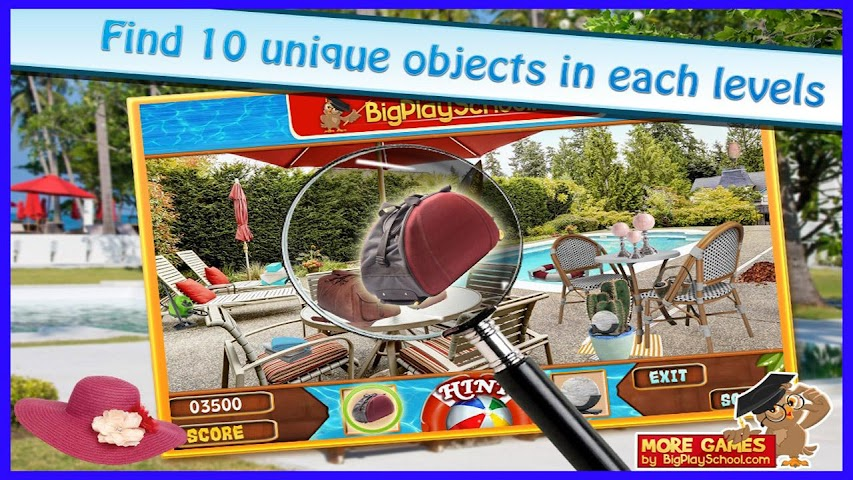android A Pool - Finding Hidden Object Screenshot 2