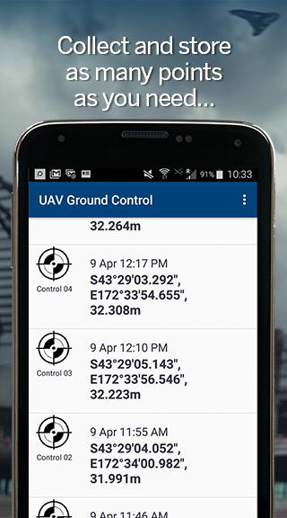 UAV Ground Control- screenshot