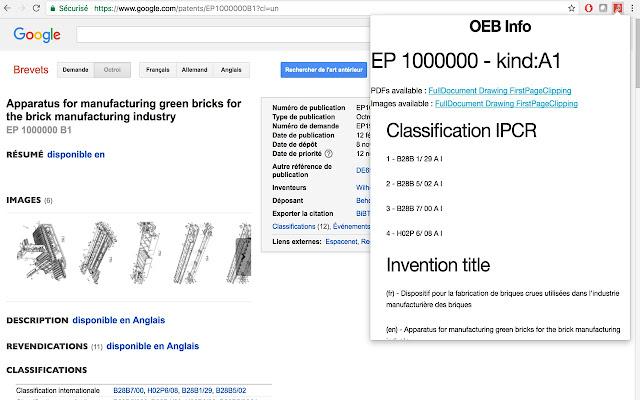 EPO Patents Infos