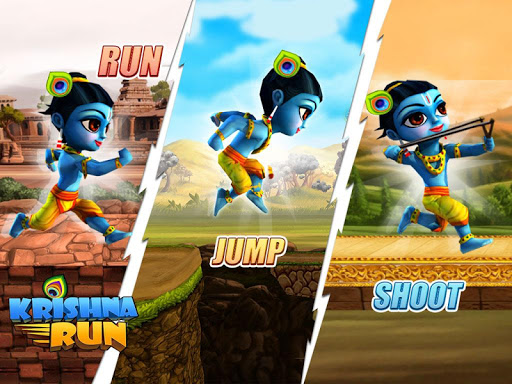 Krishna Run: Adventure Runner - screenshot