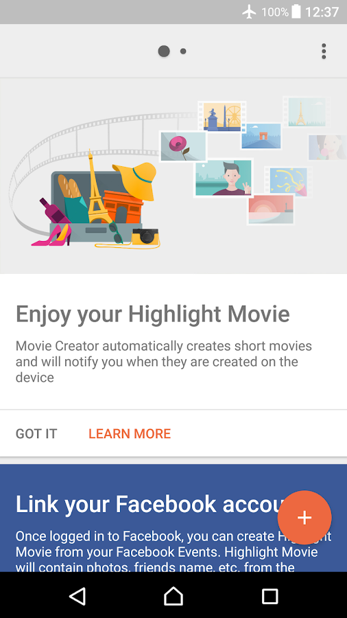Movie Creator- screenshot