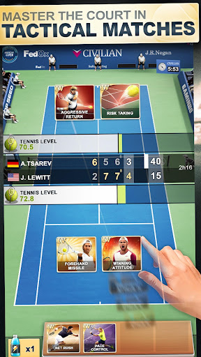 TOP SEED Tennis: Sports Management & Strategy Game  screenshots 3