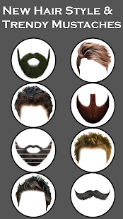 Men Mustache And Hair Styles - náhled