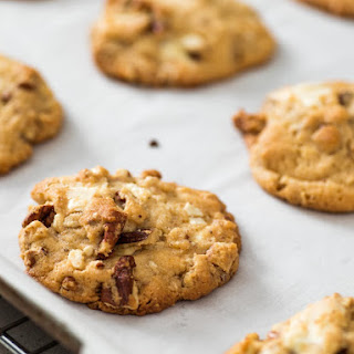 Malted Chocolate Chip-Pecan Cookies.