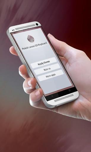 粉紅色的帆布 GO Keyboard 玩個人化App免費 玩APPs