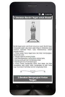 Panduan Sholat Lengkap screenshot