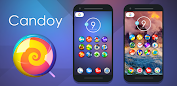 Candoy - Icon Pack Apps para Android screenshot