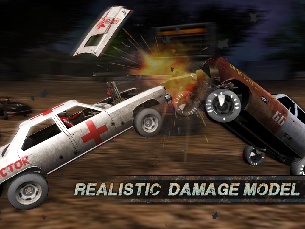 Demolition Derby: Crash Racing- screenshot