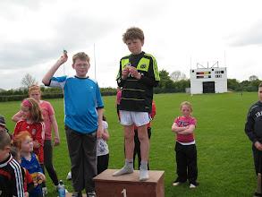 Photo: Winners of the Boys U/12 100m