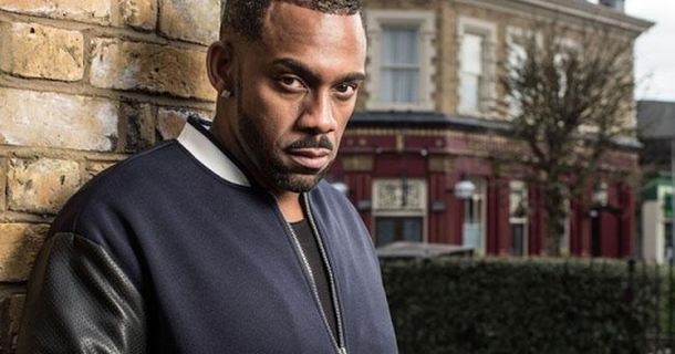 Richard Blackwood to leave EastEnders