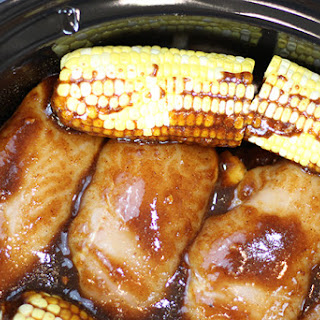 Crock-Pot® Sweet & Spicy BBQ Chicken Dinner