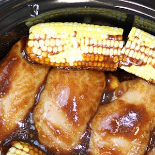 Crock-Pot® Sweet & Spicy BBQ Chicken Dinner.