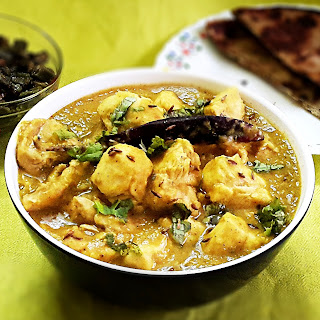 Chicken with red split lentils recipe - Murghi aur masoor dal