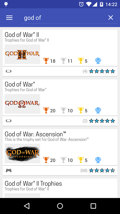 PS Trophies PRO- screenshot