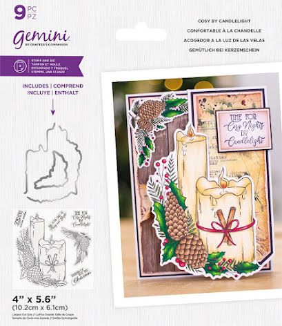 Gemini Stamp & Die - Cosy by Candlelight