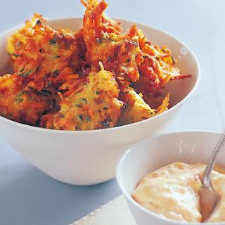 Chorizo and Potato Fritters Recipe
