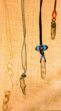 Photo: Clay fertility pendants, mother of pearl/wood/copper/clay beads  SOLD/ПРОДАНИЙ