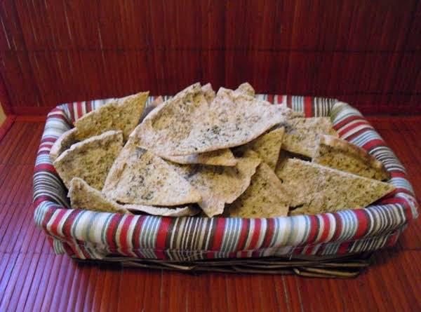 Semi-homemade Whole Wheat Pita Chips Recipe