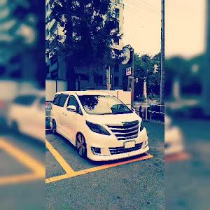 アルファード GGH25W 350S TYPE GOLD Ⅱ 4WDのカスタム事例画像 akiponさんの2020年03月31日02:14の投稿