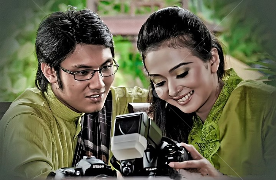 a picture of love by Farid Jasni - Wedding Bride & Groom