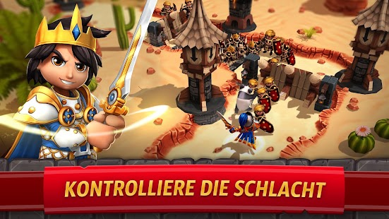 Royal Revolt 2: Kampf RPG - Krieg Strategie Clash Screenshot
