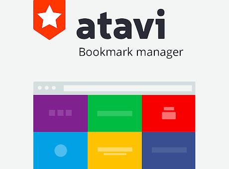 Atavi - bookmark manager