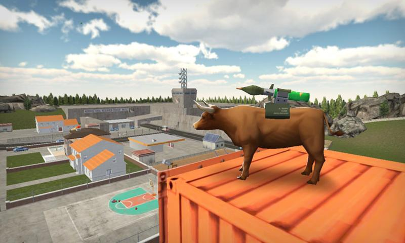 Bull Simulator 3D- screenshot