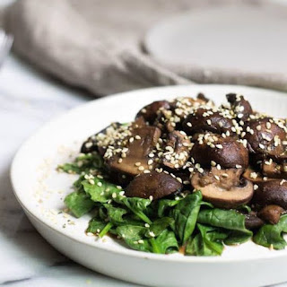 Magic Ginger Mushrooms & Spinach