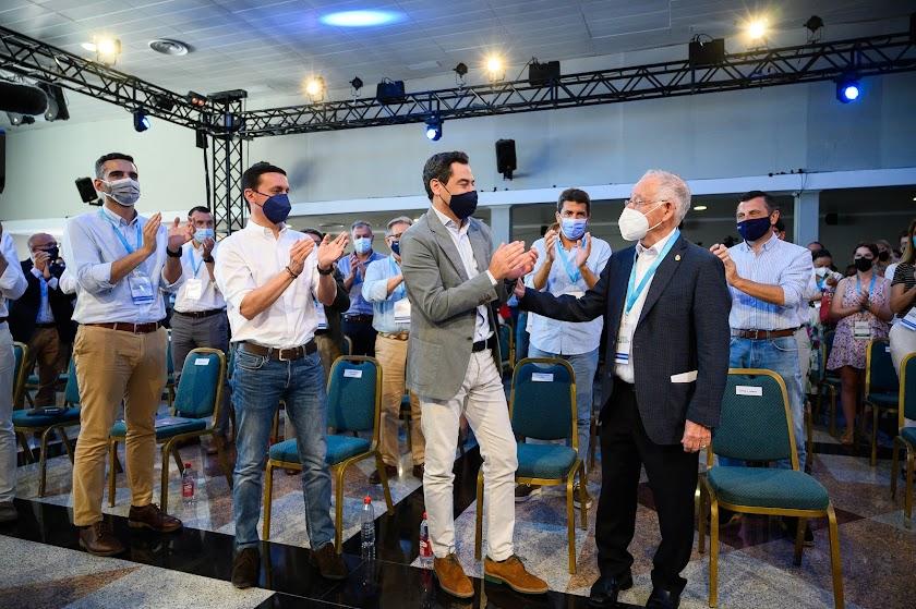 Las mejores imágenes del congreso del PP en Roquetas de Mar