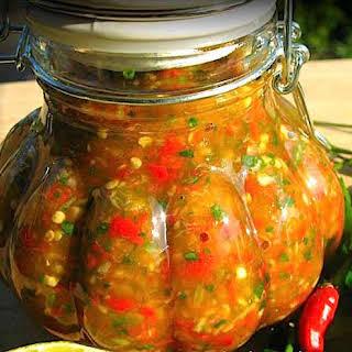 The Hirshon Bajan Hot Sauce.