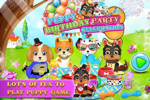 Puppy Birthday Celebration